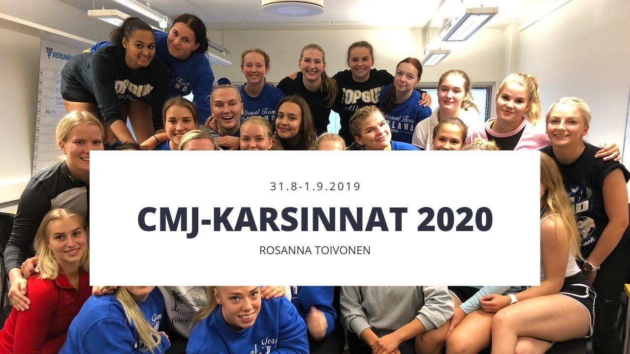 CMJ karsinnat 2020 || ROSANNA TOIVONEN