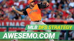 MLB DFS Strategy - Fri 7/19 - DraftKings FanDuel Yahoo - Awesemo.com