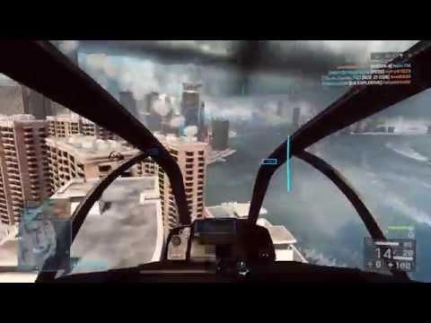 Battlefield 4 Attack Helicopter: 119-0 Solo (#3 Agera621/100,000+ Heli Kills)
