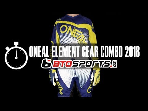 Oneal Element Gear Combo 2018 | BTOSports.com Product Review