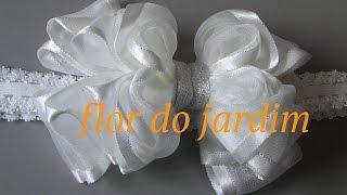 Laço luxo para batizado – Ribbon tie for great occasions