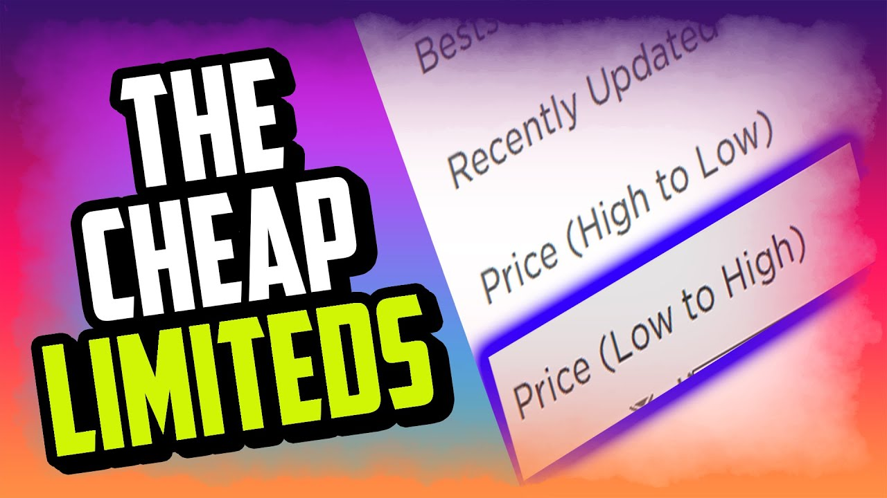 What Is The Cheapest Limited On Roblox In 2019 Cheapest Limited