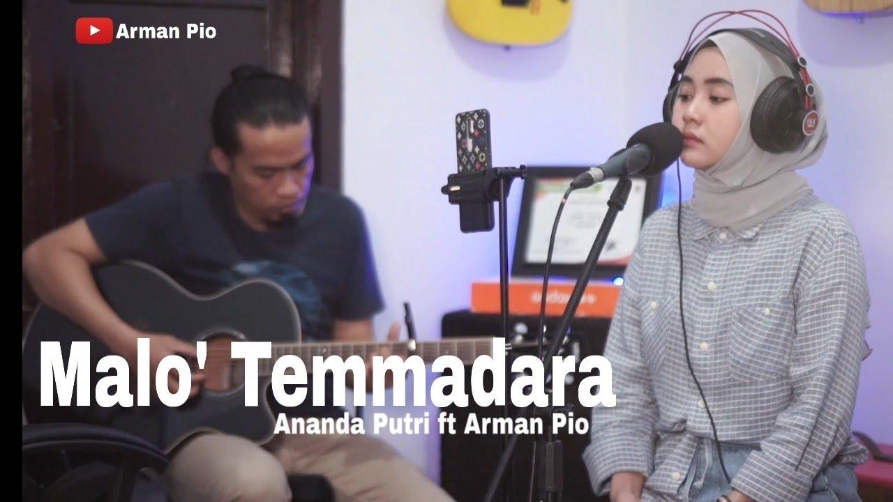 Lagu Bugis Malo Temmadara Tenri Ukke. Cover Ananda Putri ft Arman Pio