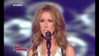 Celine Dion - Alone [Live@Star Academy 2008]