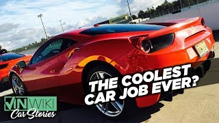I got recruited for the coolest car job ever
