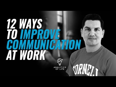 12 Ways To Improve Communication At Work | Effective Communication | Analytics Of Life