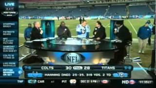 Peyton Manning on NFL Network Post-Game Set