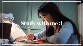 🔥STUDY WITH ME :: 간호대생과 같이 공부해요!🏥 (Bonfire sound, Real time)