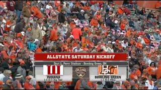 NCAAF: Indiana at Bowling Green - September 13, 2014