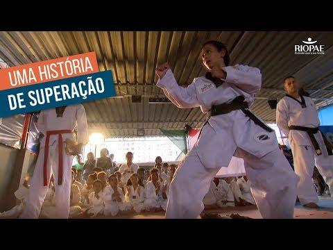 Maria Rita e o Taekwondo: O esporte como forma de superação