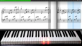 ave maria | charles guound | synthesia | piano sheet music free download | piano tutorial