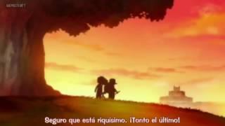 Luffy,Ace y sabo momento divertido