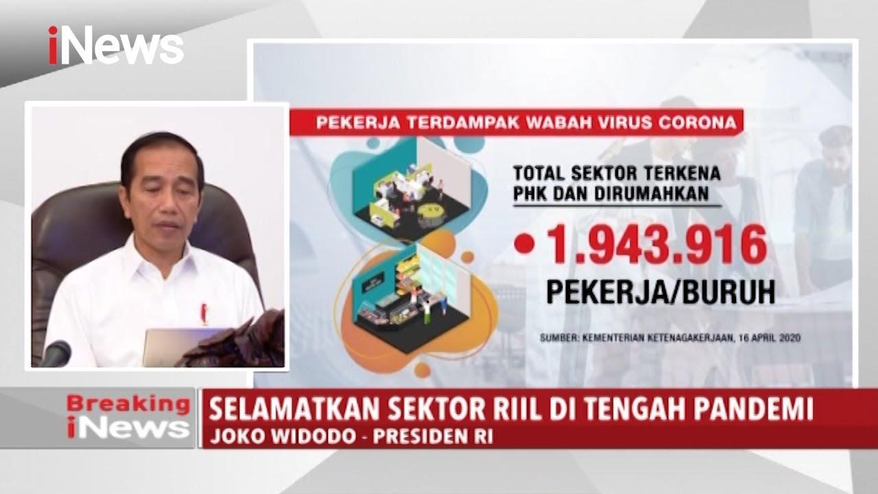 Jokowi: Selamatkan Sektor Riil di Tengah Pandemi Corona – Breaking iNews 22/04