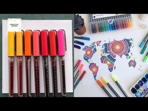Simple drawings 2019! Art Drawing Tutorial #1 Most Amazing Art Video How to Draw Easy Step by Step!! thumbnail