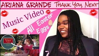 Ariana Grande Thank You, Next Music Video All Easter Eggs REACTION