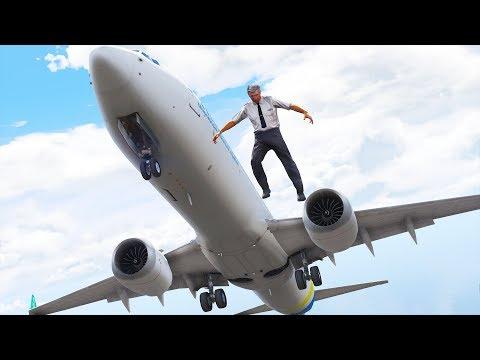 Pilot Jumps Out