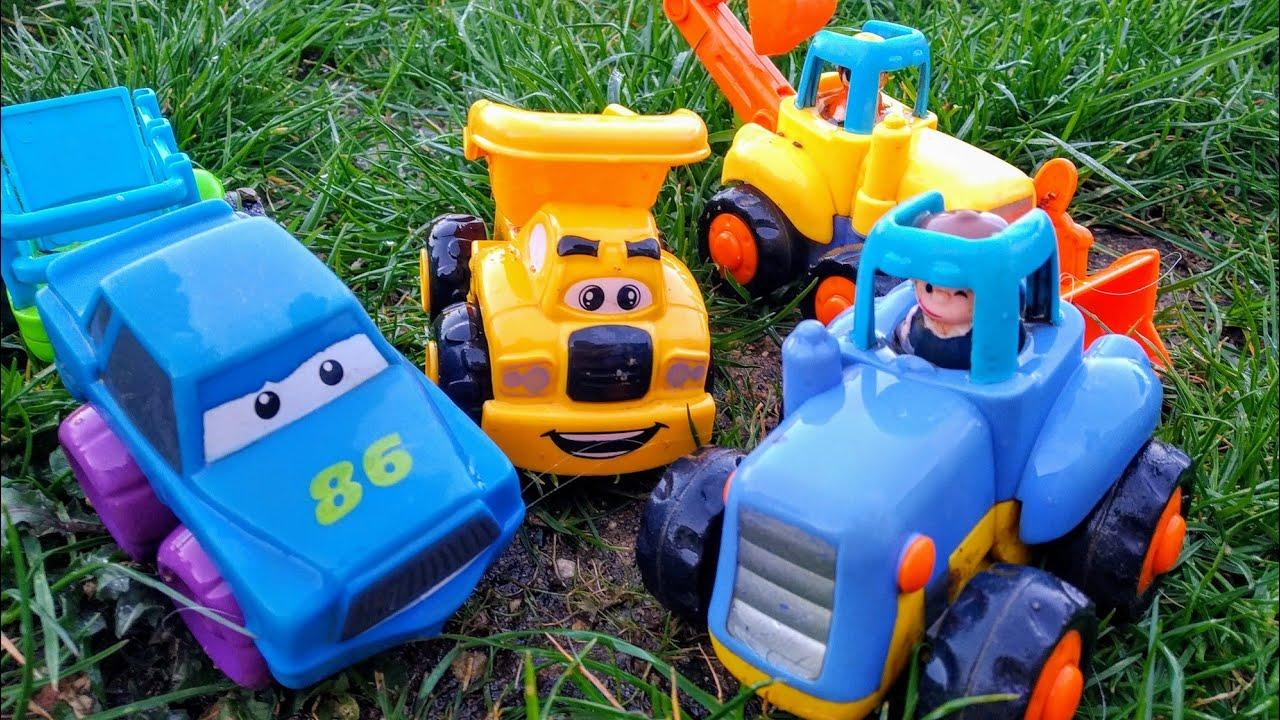 Детские мультики про машинки. Синий трактор и его друзья ...