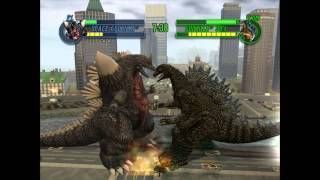 Godzilla: Save The Earth - Space Godzilla VS. Godzilla 90