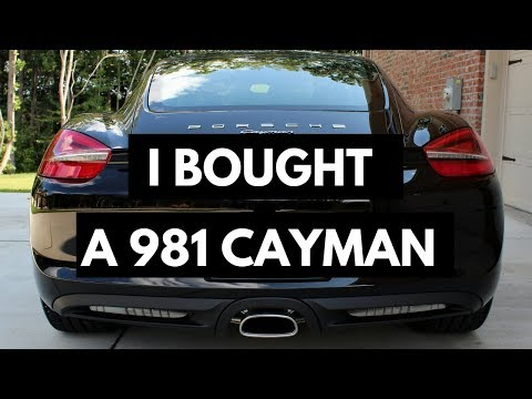I Bought a 981 Cayman (2.7L Base) - Quick Review