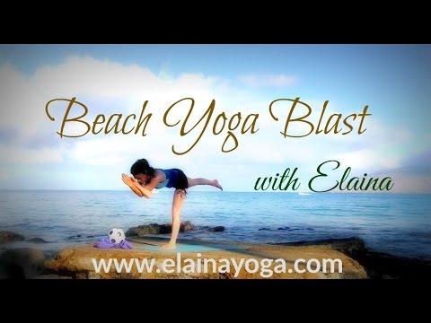 🌊 Beach Yoga Blast - Advanced
