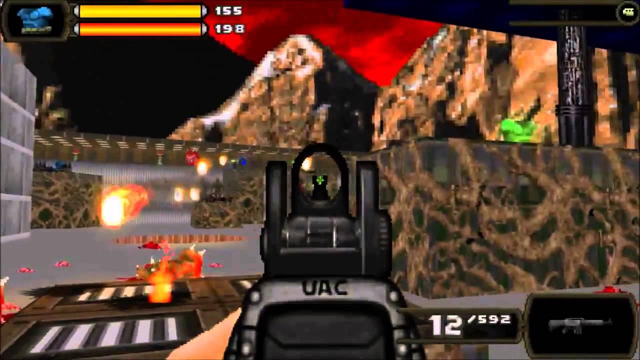 [Brutal Doom v20] DarkHell - E2M2 - Grey Halls of Blood ...