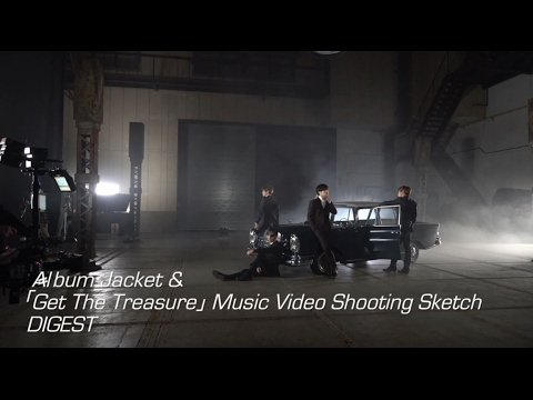 SHINee - 「FIVE」初回限定盤収録【Album Jacket&「Get The Treasure」Music Video Shooting Sketch】ダイジェスト
