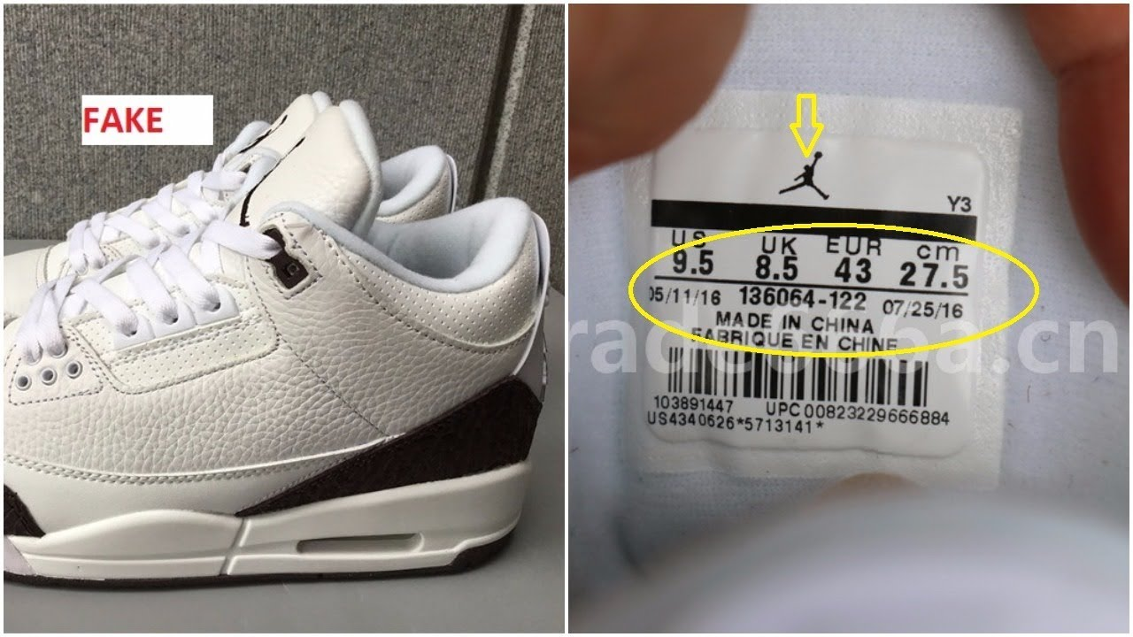 The Fake Air Jordan 3 Mocha Is Already Out- Quick Tips To Identify Them d677e860a