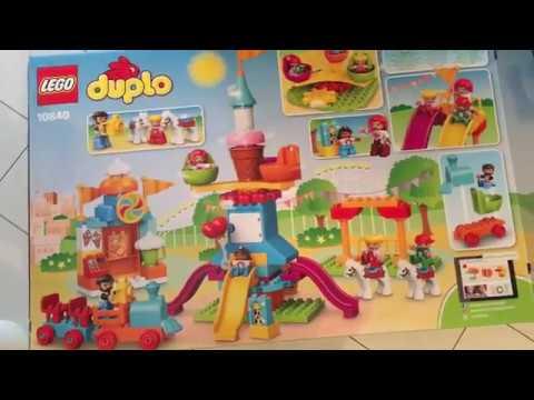 Duże Wesołe Miasteczko 10840 Lego Duplo Youtube