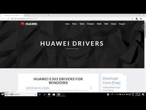 How To Download Huawei Driver To Do And Receive Calls And Sms On Your Pc With Modem !