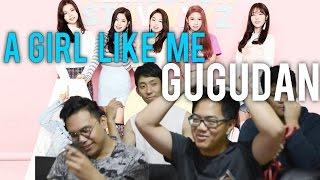 gugudan   a girl like me mv reaction