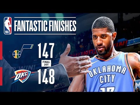 Jazz & Thunder Battle Down To The Wire In Double-Overtime! | February 22, 2019