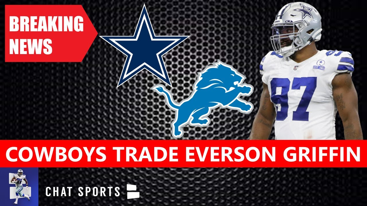 Cowboys deal pass rusher Everson Griffen to Lions for conditional pick