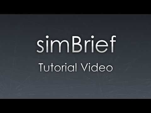 SimBrief: Tutorial Video (2016)