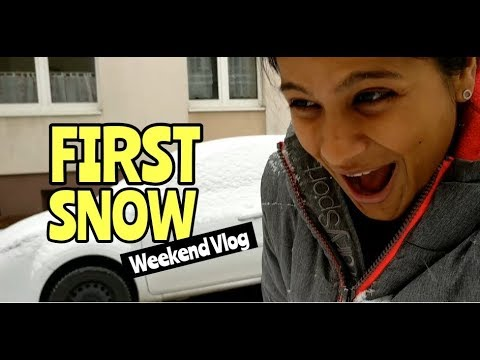 Life In Germany   Christmas Markt + Snow 2018   Weekend Vlogs