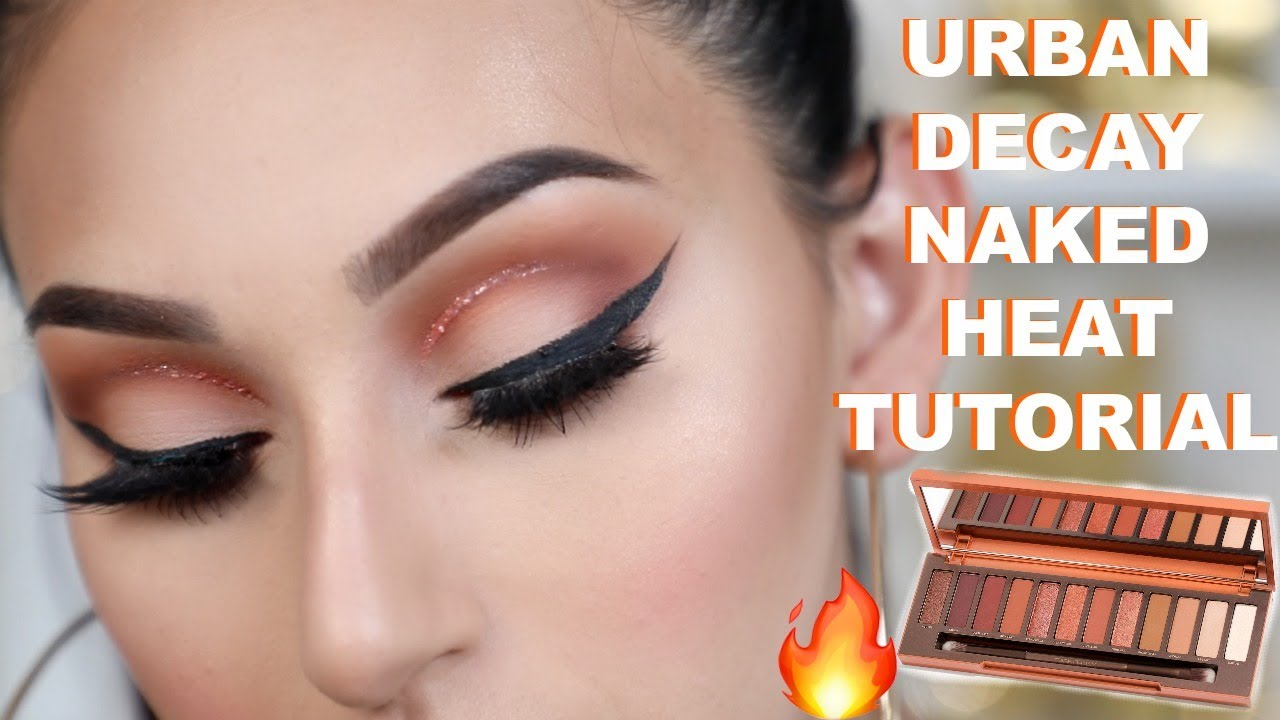 Girl with Glam - Urban Decay Naked Heat Palette Two Shadow