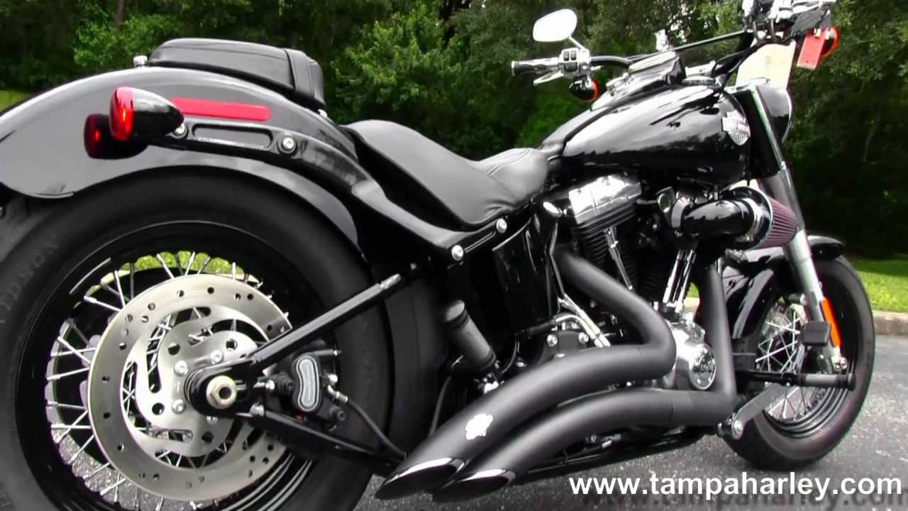 Used 2013 Harley Davidson Fls Softail Slim Motorcycle For