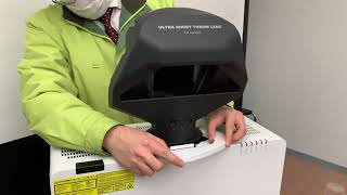 휴스템/Maxell 프로젝터용  FL-720 단초점 렌…