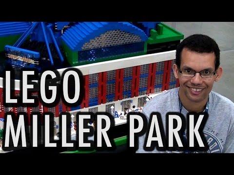 Giant LEGO Miller Park | Milwaukee Brewers Baseball Stadium