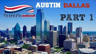 An Amtrak Journey Across The United States: America's Identity Part 1 Austin - Dallas