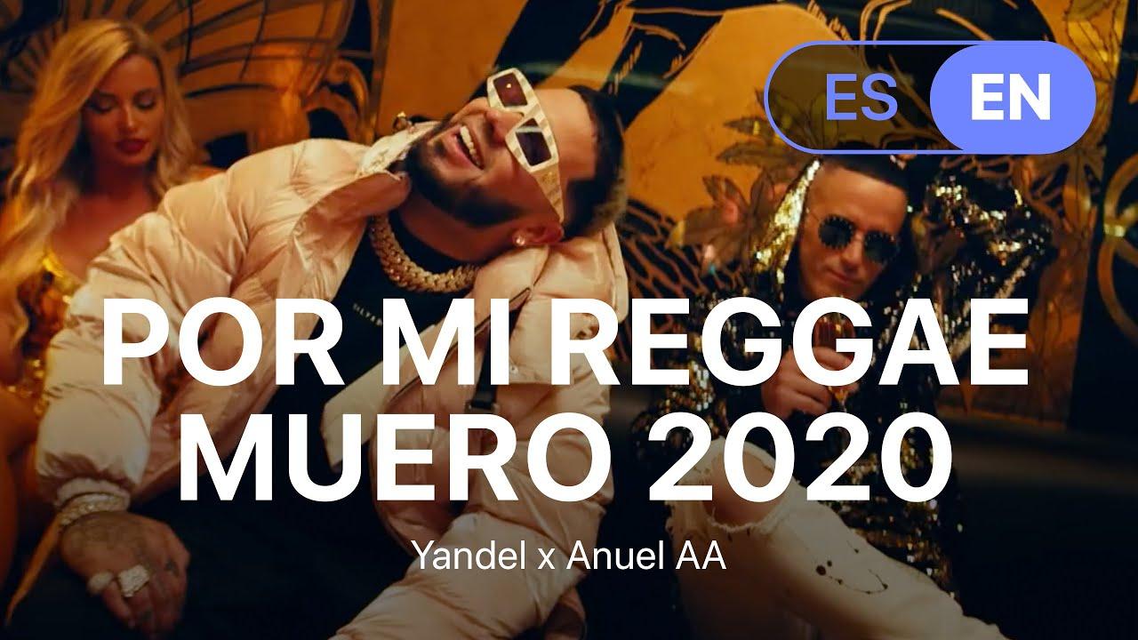 Yandel x Anuel AA - Por Mi Reggae Muero 2020 (Lyrics / Letra English & Spanish)