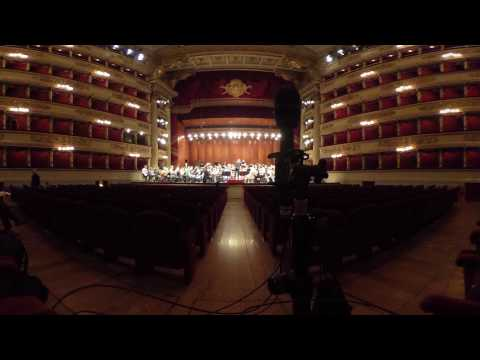Teatro alla Scala, Mailand: 360° (Audio und Video)