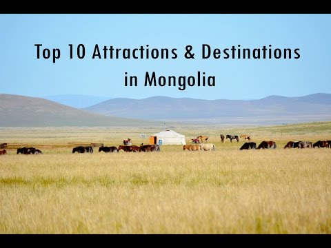 Top Rated 10 Tourist  Attractions & Destinations in Mongolia