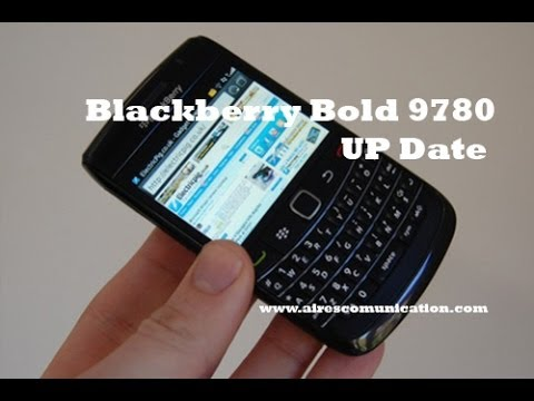 Update OS at BlackBerry Bold 9780