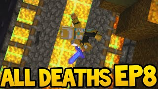 Minecraft Story Mode - ALL DEATH SCENES - Episode 8