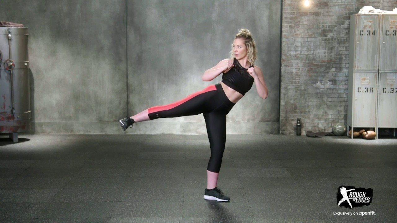 Amy Johnston how to do front and side kicks with amy johnston