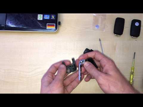 видео: Как разобрать ключ vw