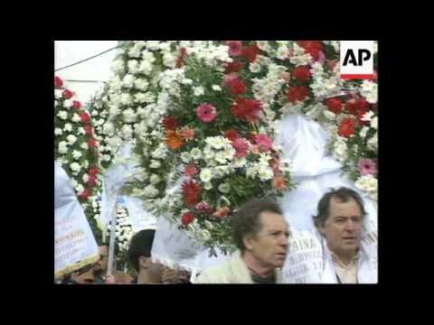 Greece - Mercouri Funeral