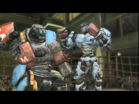 REAL STEEL THE VIDEO GAME [XBOX360/PS3] - METRO Vs AMBUSH