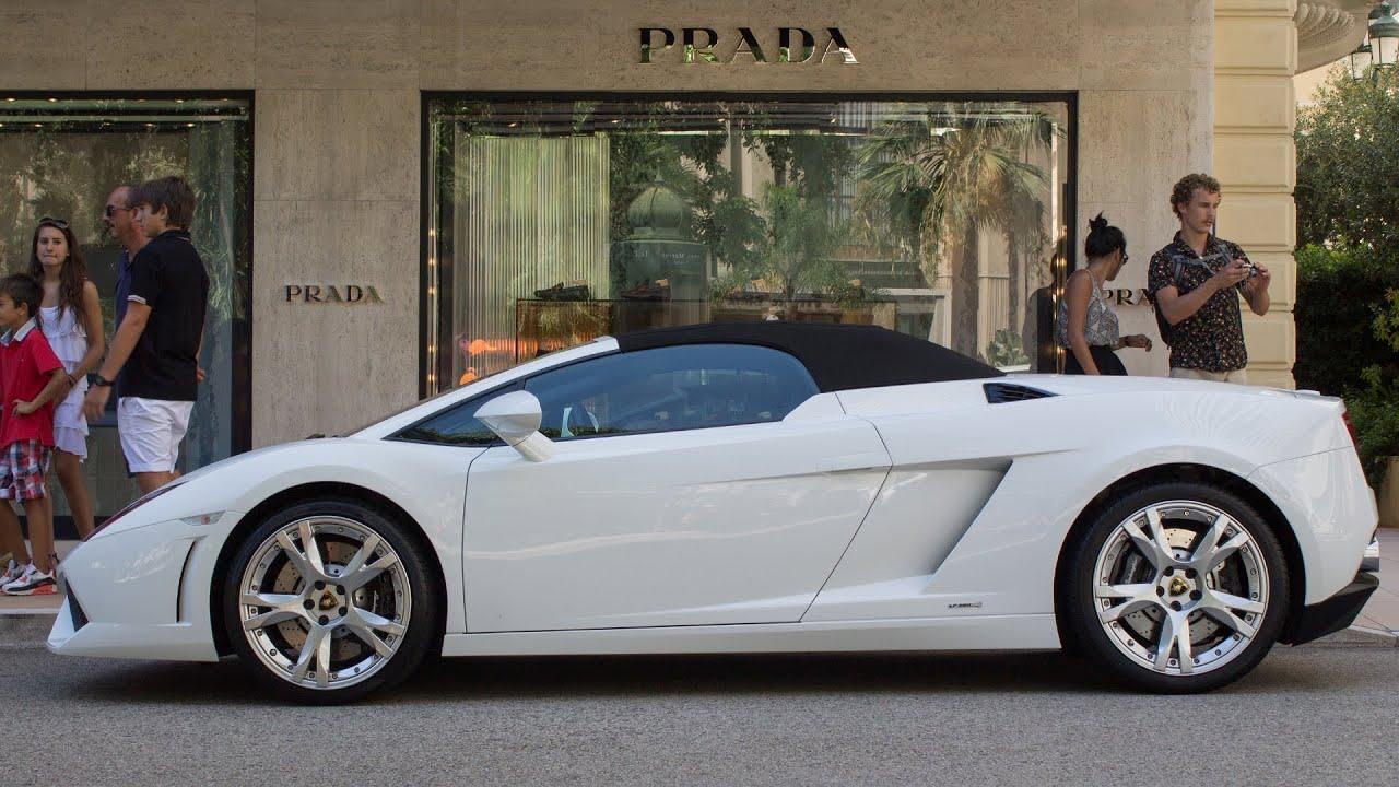 Lamborghini Gallardo Lp560 4 Spyder Sound And Roof