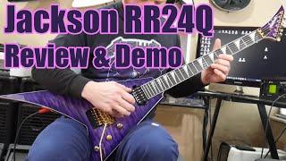 Jackson RR24Q Review - Sound Test & Demo - Randy Rhoads - Seymour Duncan SH-6 Distortion Mayhem set